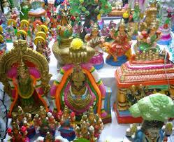 Varalakshmi Vratham Decoration Ideas In Tamil by How To Perform Navratri Puja At Home Kolam By Sudha Balaji