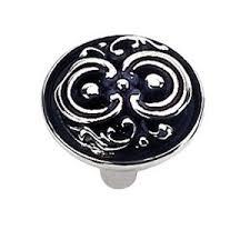 laurey fleur de lis 1 1 4 in antique silver cabinet knob 13360