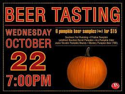 Travelers Pumpkin Beer by Pumpkin Beer Tasting