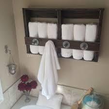 the 25 best pallet towel rack ideas on pinterest towel shelf