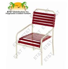 Vinyl Straps For Patio Chairs vinyl strap dining chairs