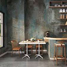 jz home 3304 beton tapete in blau grau rustikale gebeizte zement tapete für zuhause restaurant bar wanddekoration 52 8 x 10 m