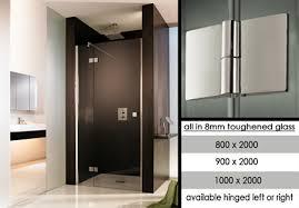 fournisseurs de portes fenêtres sans cadre pour salles de bain