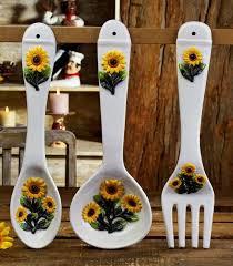 Sunflower Kitchen Decor In Curtain