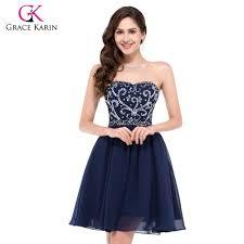 online get cheap navy blue short homecoming dresses aliexpress