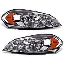 headlight assembly for 2006 2013 chevy impala 06 07