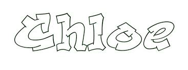 Name Coloring Pages Chloe