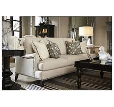 Drexel Heritage Sofa Table by Gaige Sofa From The Drexel Heritage Upholstery Collection By