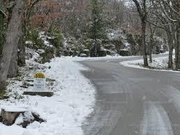 vaucluse de la neige sur le ventoux ce matin