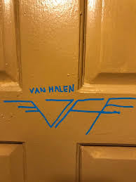 van halen news desk on twitter have you ever drawn this logo on