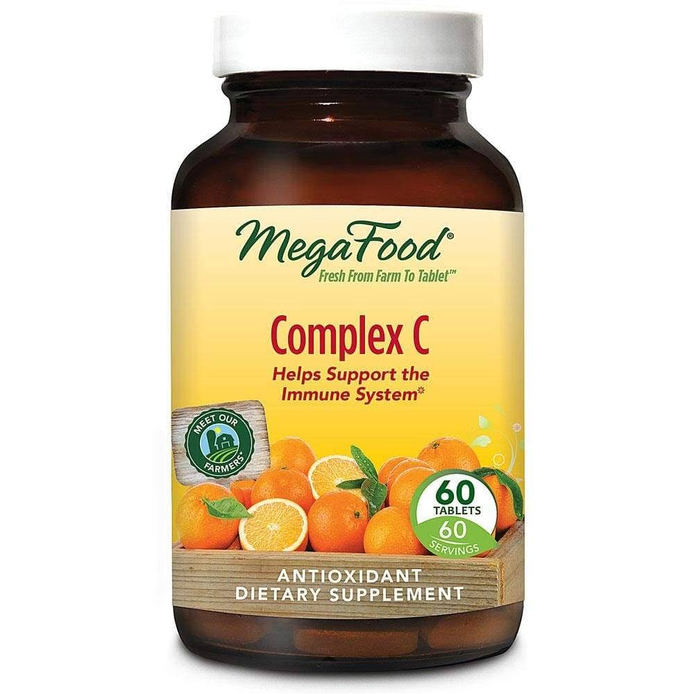 MegaFood Complex C Dailyfoods Supplement - 60 Tablets