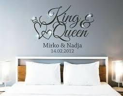 wandtattoo king wandtattoo schlafzimmer namen