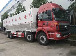 100 Feed Truck Foton Auman 84 40cbm Bulk Feed Truck For Sale CLW5311ZSLB4