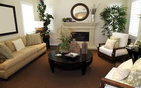 Living Room Decor With Plants Ideas For Decorating The Home Office