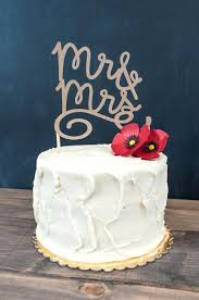 Wedding Cake Topers Nice Homemade Toppers Rustic