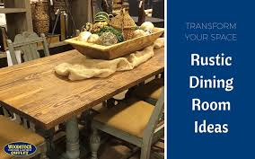 the outdoors in with these rustic dining room ideas
