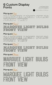 marquee light bulbs front view graphics creative market