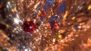 Evergleam Aluminum Christmas Tree by The Silver Aluminum Christmas Tree Youtube