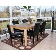 2x esszimmerstuhl stuhl küchenstuhl littau leder schwarz dunkle beine