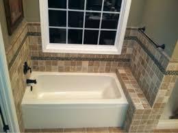 ceramic tile tub skirt stunning bathroom tub surround