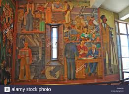 Coit Tower Murals Images by San Francisco The Interior Of Coit Tower The Decorations