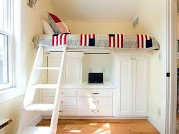 Image Of Small Loft Bedroom Design