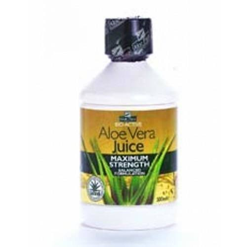 Aloe Pura Bio-Active Aloe Vera Juice - Maximum Strength, 500ml
