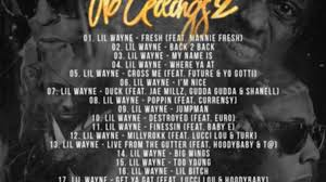 listen to lil wayne cover a bunch of drake songs on no ceilings 2