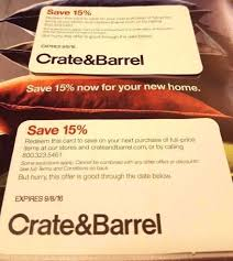 CRATE BARREL 15 COUPON Fast Delivery NOW Two Cards Offers In ... Pottery Barn Fniture Shipping Coupon 4 Corner Fingerboards Coupon Code Crate Barrel Coupons Doki Coupons Hello Subscription And Barrel Code 2013 How To Use Promo Codes For Crateandbarrelcom Black Friday 2019 Ad Sale Deals Blacker And Discount With Promotional Emails 33 Examples Ideas Best Practices Asian Chef Mt Laurel Taylor Swift Shop Promo Codes Crateand 15 Off 2018 Galaxy S4 O2 Contract