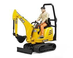 100 Jcb Melbourne BRUDER JCB Micro Excavator 8010 CTS And Contruction Worker BWORLD Hearns Hobbies Australia