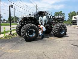 Famous Raminator Monster Truck Displays Power In Willoughby | Ohio ...