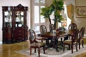Dining Room China Cabinet Contemporary Design Joyous Cherry