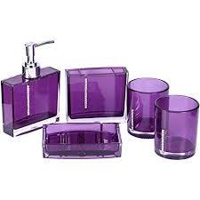 yosoo badezimmerausstattung 5 teiliges badezimmer acryl
