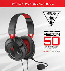 Turtle Beach Ear Force Recon 50 Stereo Gaming Headset - Red (PC / PS4 /  Xbox One)(New) - Turtle Turtle Beach Towers In Ocho Rios Jamaica Recon 50x Gaming Headset For Xbox One Ps4 Pc Mobile Black Ymmv 25 Elite Atlas Review This Pcfirst Headset Gives White 200 Visual Studio Professional 2019 Voucher Codes Save Upto 80 Pro Tournament Bundle With Coupons Turtle Beach Equestrian Sponsorship Deals Stealth 500x Ps4 Three Not Mapped Best Ps3 Oneidacom Coupon Code Friend House Wall Decor Large Wood
