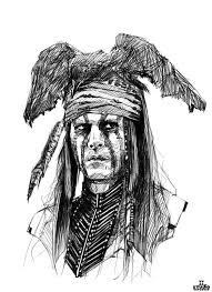 the lone ranger johnny depp by totodost on deviantart