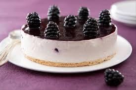 recette de tarte façon cheesecake aux mûres facile et rapide