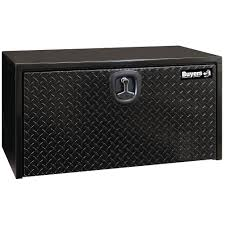 Buyers Products Company Black Steel Underbody Truck Box With Diamond ...