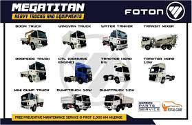 100 Truck Brand BRAND NEW FOTON DUMP TRUCK