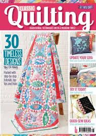 Classic Quilting Sampler by Immediate Media Co magazines issuu