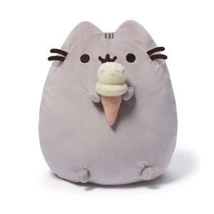 Gund Fun Gund Pusheen Ice Cream Cone Plush