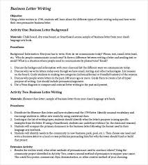 Business Letter Template 20 Free Sample Example Format
