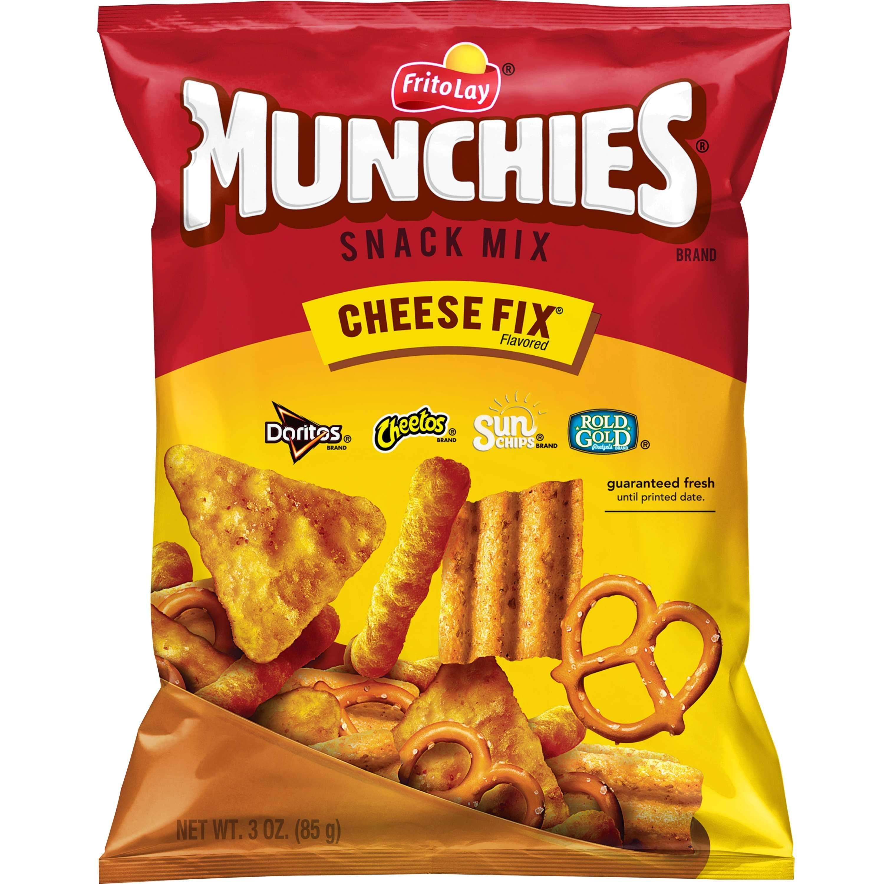 Munchies Snack Mix - Cheese Fix Flavored, 3oz