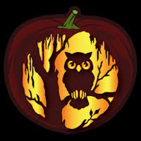 Owl Pumpkin Template by Black Tree Owl Pumpkin Stencil Animals And Insects Stencils