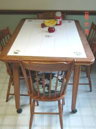 flooring tile kitchen table tile top kitchen table butterfly