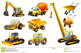 100 Construction Trucks Different Types Of Stock Vector