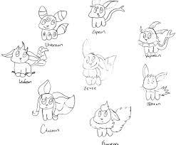 Pokemon Eevee Coloring Page 2585491
