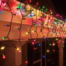Ebay Christmas Trees With Lights by Icicle Lights Colored And Clear Icicle Lights U2013 Bulbamerica