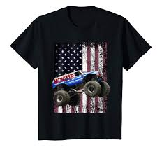 Amazon.com: Monster Truck American Flag Racing USA Patriotic T-Shirt ... Kids Rap Attack Monster Truck Tshirt Thrdown Amazoncom Monster Truck Tshirt For Men And Boys Clothing T Shirt Divernte Uomo Maglietta Con Stampa Ironica Super Leroy The Savage Official The Website Of Cleetus Grave Digger Dennis Anderson 20th Anniversary Birthday Boy Vintage Bday Boys Fire Shirt Hoodie Tshirts Unique Apparel Teespring 50th Baja 1000 Off Road Evolution 3d Printed Tshirt Hoodie Sntm160402 Monkstars Inc Graphic Toy Trucks American Bald Eagle