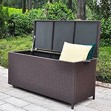 Sams Club Small Deck Box by Amazon Com Keter Rockwood Plastic Deck Storage Container Box