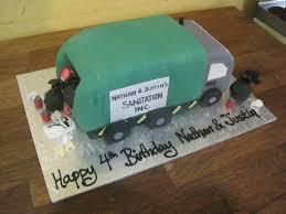 100 Garbage Truck Cakes Decoration Ideas Little Birthday